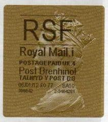 2012 RSF ( i 4)(£0.77) POST BRENHINOL GOLD HORIZON (TYPE 2a)