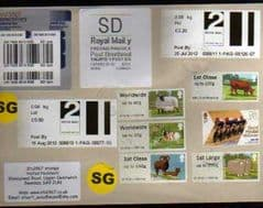 2012 'SD' ( Y 6)WELSH WHITE LABEL + MANY OTHERS ON COVER