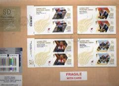 2012 'SD' ( Y 4)'WELSH TYPE 1 HORIZON + 4 PARALYMPIC M/S ON COVER