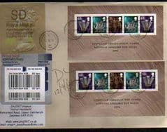 2012 'SD'(Y 4)WELSH WALSALL TYPE 3  ON COVER