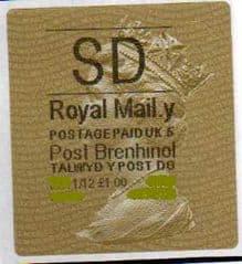 2012 SD (Y 5) POST BRENHINOL TYPE II+ CODES * RARE 5 CODE*