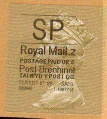 2012 SP (Z 6) POST BRENHINOL TYPE II WITH NEW CODES