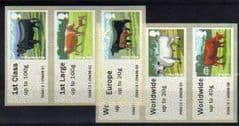 2012 U/M (COLLECTORS SET) 'CATTLE'(6v) (CARMARTHEN)