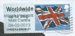 2012 WORLDWIDE (UPTO 20g) 'UNION FLAG'  FINE USED