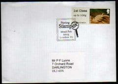 2013 1ST CLASS  'PONDLIFE' (TRAFALGAR SQ)(STAMPEX) FINE USED ON COVER