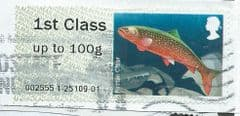 2013 1ST   'FRESHWATER LIFE 2 - ARCTIC CHAR'    FINE USED
