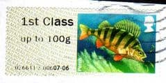 2013 1ST   'FRESHWATER LIFE 2 - PERCH'   FINE USED