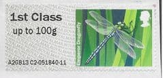 2013 1ST 'FRESHWATER LIFE -EMPEROR DRAGONFLY' (A2GB13 C2) FINE USED