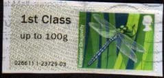 2013 1ST 'FRESHWATER LIFE -EMPEROR DRAGONFLY' FINE USED