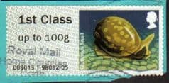 2013 1ST 'FRESHWATER LIFE -GLUTINOUS SNAIL'  FINE USED