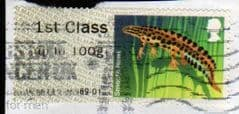 2013 1ST 'FRESHWATER LIFE -SMOOTH NEWT' FINE USED