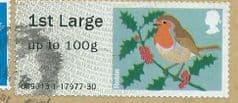 2013 1ST LARGE  'CHRISTMAS ROBIN (MA13)    FINE USED