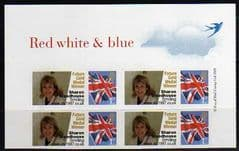 2013 1ST (S/A) (U/M) (RED WHITE AND BLUE)' UNION FLAG AND 'FUTURE GOLD MEDAL WINNER' LABELS