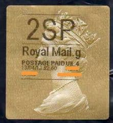 2013 '2SP' (G 4) WALSALL TYPE 3  FINE USED