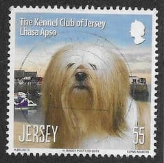 2013 55P 'THE KENNEL CLUB OF JERSEY' FINE USED