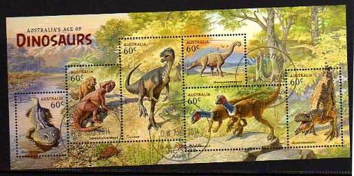 2013 'AGE OF DINOSAURS' M/S FINE USED