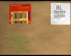 2013 'BL'(M 4)  WELSH WHITE HORIZON  LABEL ON COVER