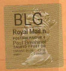 2013 BLG (N 4) POST BRENHINOL TYPE II