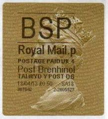 2013 'BSP' (P 4) POST BRENHINOL TYPE II+ CODES (NEW SERVICE FROM 2ND APRIL 2013)