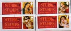 2013 SET (S/A) 'CHRISTMAS 2013' (STU1967 LOGO)(4v) FINE USED