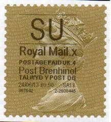 2013 SU (X 4)'POST BRENHINOL TYPE 1 LATE USE FINE USED