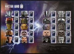 2013 U/M 'DOCTOR WHO' SHEET( LS85)