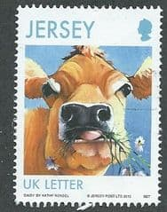 2013 (UK) 'COW WITH DAISIES' FINE USED
