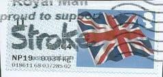 2014 1L (B4) 'UNION FLAG' ( POSTCODED) FINE USED