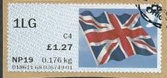 2014 1LG (C4) 'UNION FLAG' ( NCR) FINE USED