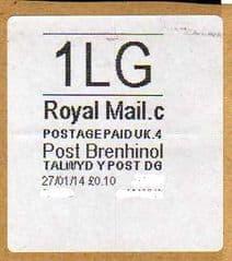 2014 1LG-POST BRENHINOL- ( C 4)   ( RARE LATE USE )