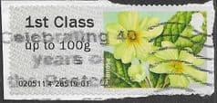 2014 1ST 'FLOWERS - PRIMROSE' (TYPE II) FINE USED