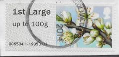 2014 1ST LARGE 'FLOWERS - BLACKTHORN'   FINE USED
