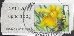 2014 1ST LARGE 'FLOWERS - WILD DAFFODIL' FINE USED