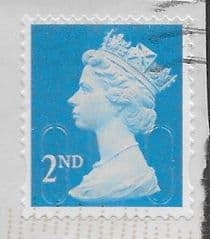 2014 2ND 'BRIGHT BLUE' (M14L)(MTIL) (1MM BACKGROUND UPWARD SHIFT) FINE USED