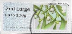 2014 2ND LARGE  (UP TO 100g) ' WINTER GREENERY- MISTLETOE'  FINE USED