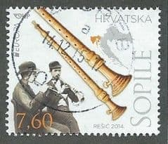2014 7.60k 'EUROPA - MUSICAL INSTRUMENTS' FINE USED