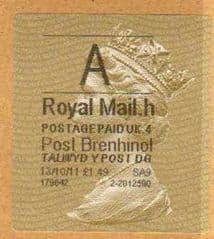 2014 'A'( H 4) POST BRENHINOL TYPE II