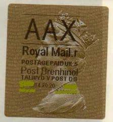 2014 AAX ( R 5) 'POST BRENHINOL' TYPE 2a