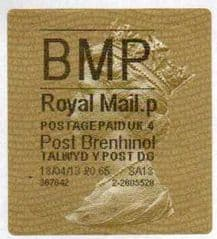 2014 'BMP' (P 4) POST BRENHINOL TYPE II+CODES (NEW SERVICE FROM 2ND APRIL 2013)