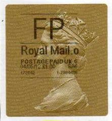 2014 FP (O 6) 'ROYAL MAIL TYPE 2a