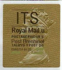 2014 'ITS' (U 5) POST BRENHINOL TYPE II   (NEW SERVICE FROM 30TH MARCH 2014 )