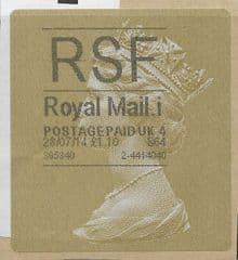 2014 'RSF' (i 4)(£1.10) 'WALSALL TYPE 3 HORIZON LABEL