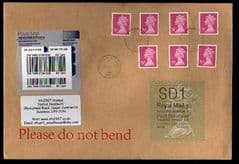 2014 SD1 (Y 4) 'WELSH TYPE 1' (FIRST DAY OF ISSUE)WITH 76P (M11L) MACHINS ON COVER