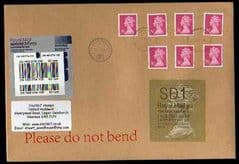 2014 SD1 (Y 4) 'WELSH TYPE 2a' (FIRST DAY OF ISSUE) WITH 76P (M11L) MACHINS ON COVER