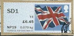 2014 SD1 (Y4) 'UNION FLAG' ( NCR) FINE USED