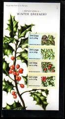 2014 'WINTER GREENERY' (FLORA III)  (4v)SPECIAL PACK