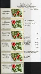 2014  'WINTER GREENERY '(MA14)   (6v)  FIRST DAY OF ISSUE AND BI LINGUAL RECEIPT!