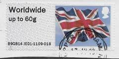 2014 WORLDWIDE 60g 'UNION FLAG' (B9GB14 JE01) FINE USED
