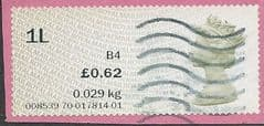 2015 '1L  ' (B4) 'N.C.R POST & GO'   ( MA15)  FINE USED