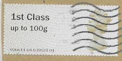 2015 1ST CLASS ' (MA15) POST & GO' FINE USED
